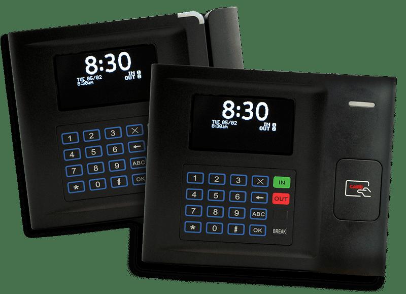 Employee Timekeeping Clocks Swipe Cards Workforce