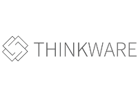 thinkware logo in greyscale