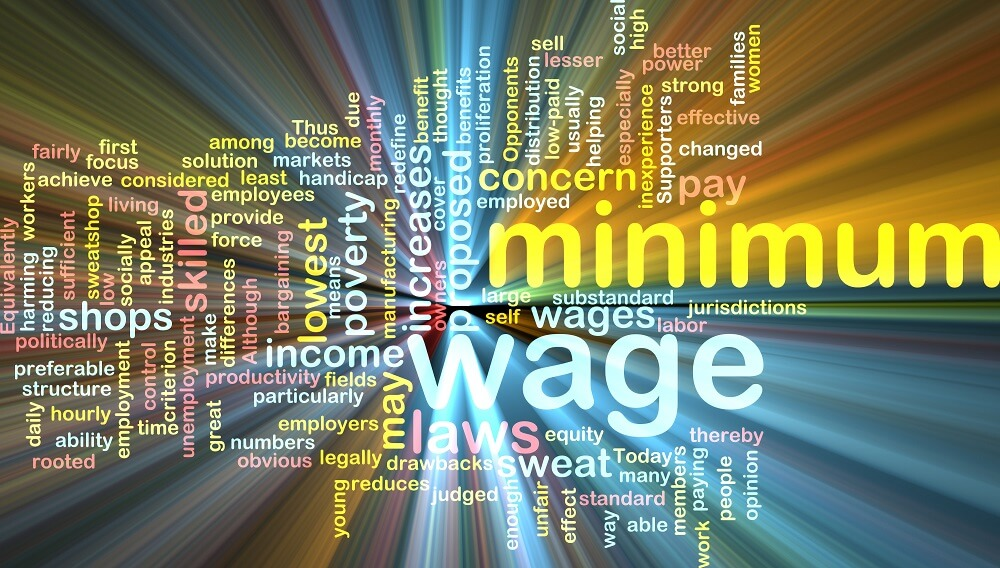Minimum wage increases in 4 states