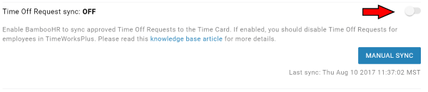 TimeWorksPlus-BambooHR-Time-Off-Request