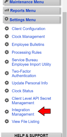 TimeWorksPlus-Integration-Management-Menu-Item