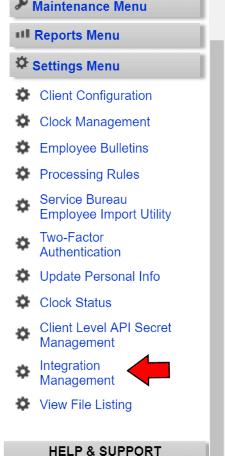 TimeWorksPlus-Integration-Management-Menu-Item