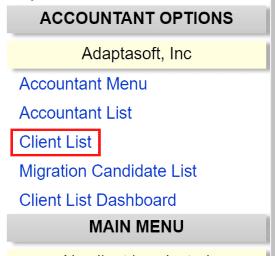 Adaptasoft Swipeclock Client List