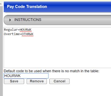 ThinkWare Pay Code Translation Screenshot