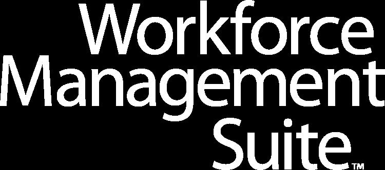 Workforce Management Suite Logo White