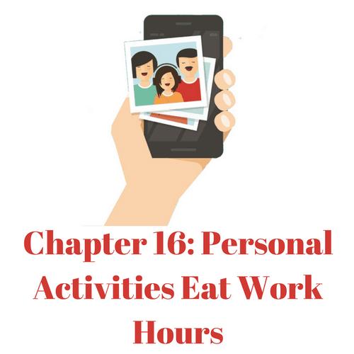 Personal Activities eat work hours