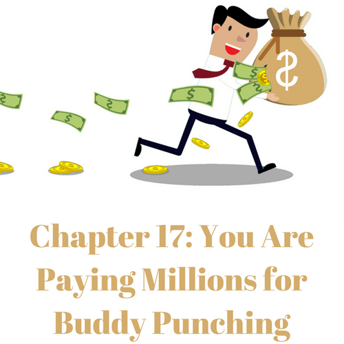 You are paying millions for buddy punching