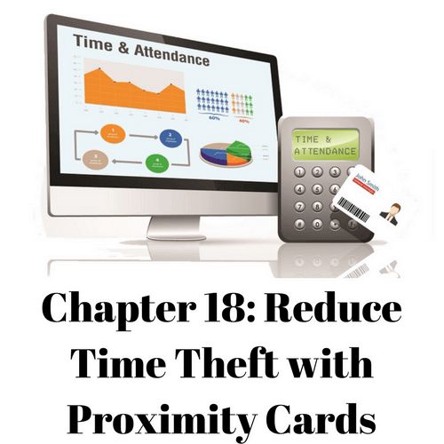 Reduce Time Theft with Proximity Cards