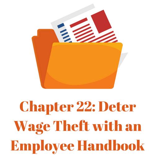 Deter Wage Theft with an Employee Handbook