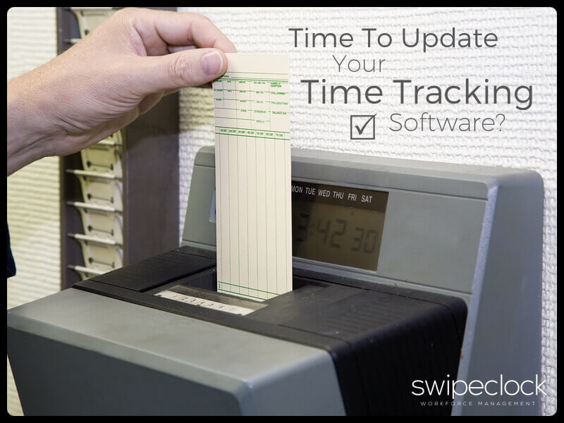 Update your time tracking software with SwipeClock