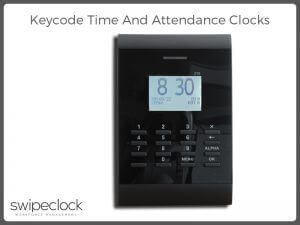 key code time clock