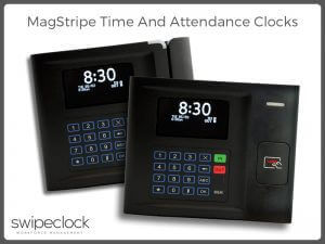 swipe card time clock