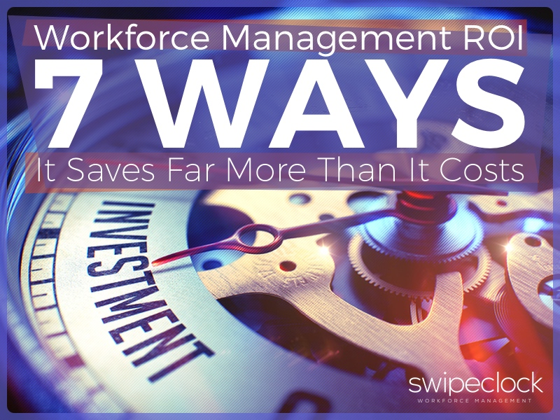 workforce management roi saves money
