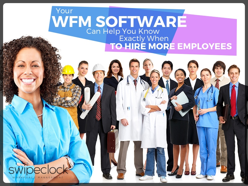 WFM Software Can Help You Know Exactly When to Hire More Employees