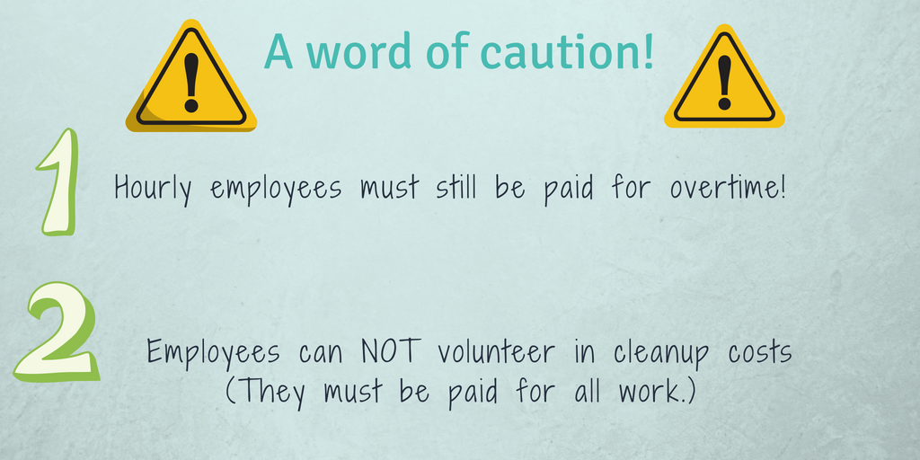Employer cautions infographic