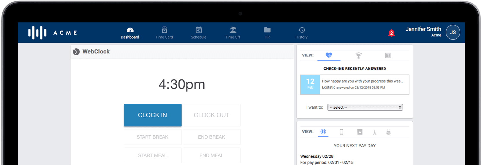 Simple Amp Affordable Hr Time Amp Attendance And Scheduling Tools
