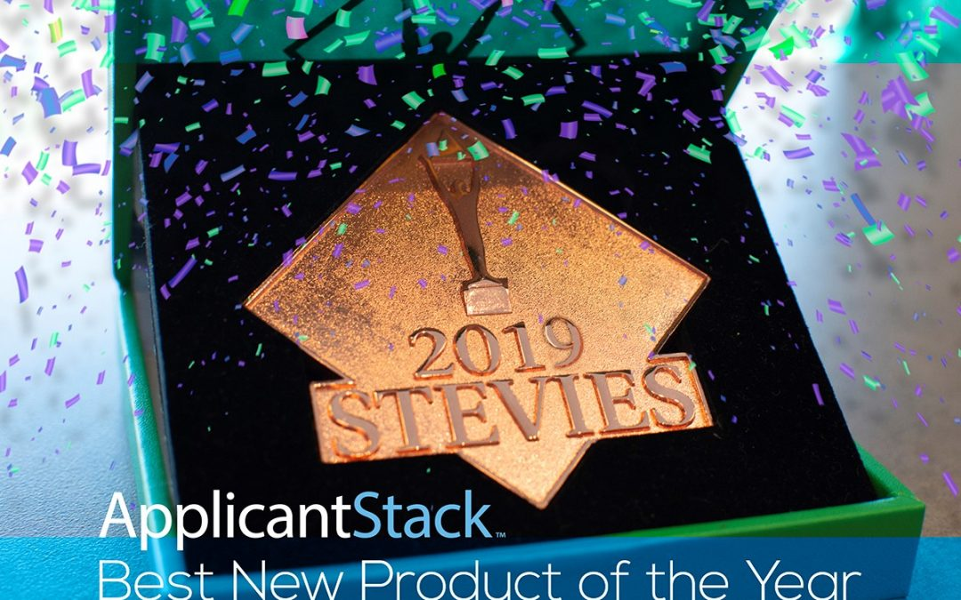 ApplicantStack Stevie Award