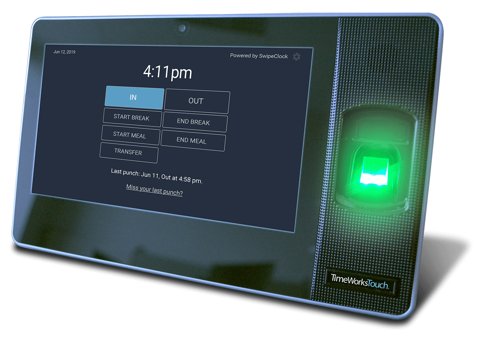 Showcasing the TimeWorksTouch Clock