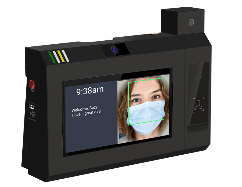 SwipeClock Launches Touchless Timeclock with Integrated Thermal Scanning to Keep Employees Safe and Secure During COVID-19 Pandemic and Beyond