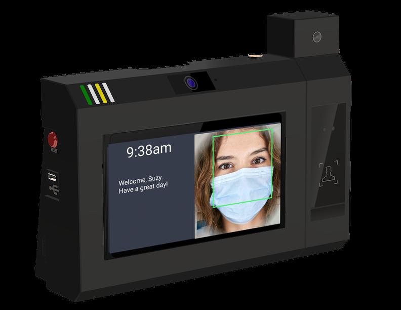 facial recognition timeclock