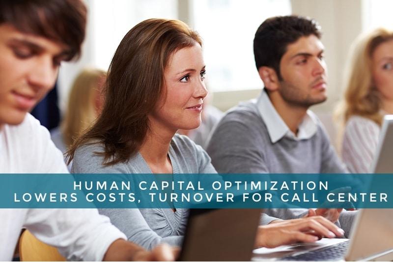 call center human capital optimization South Jordan