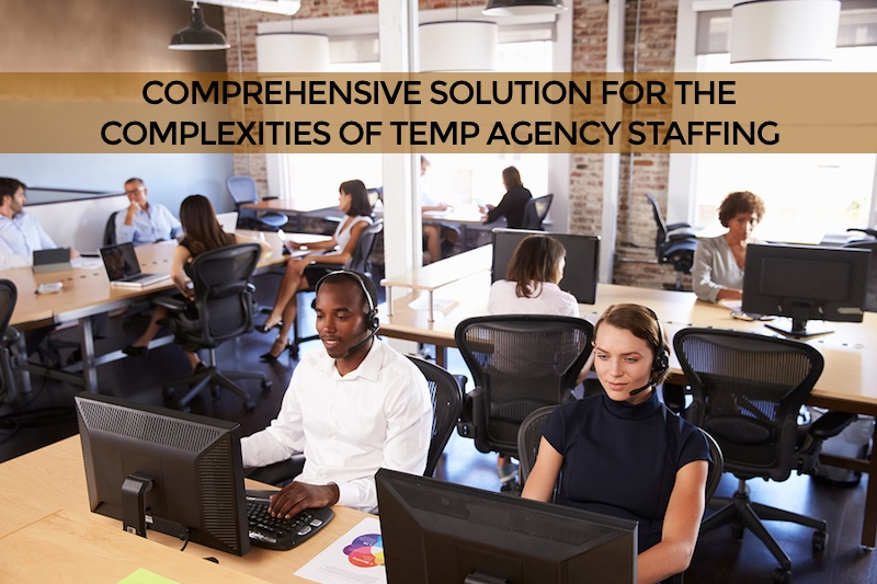 temp staffing contractor scheduling system South Jordan
